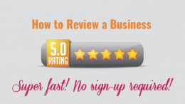 How to Review a Business