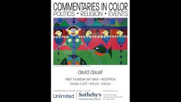 Commentaries in Color art show