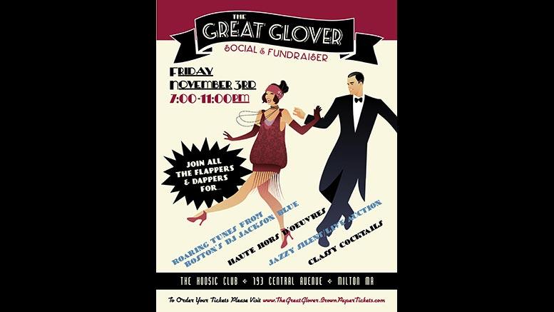 Great Gatsby Glover fundraiser