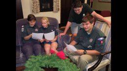 boyscouts wreath sale