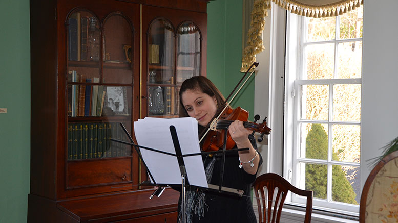 Emma Green at the Suffolk Reserves House