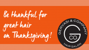 Gervasi & Co.: Still time to book your hair appointment before Thanksgiving!