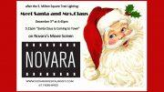 Santa at Novara!