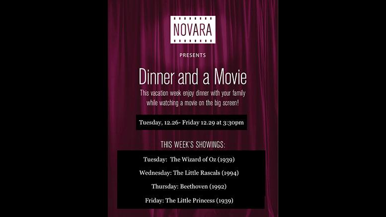 Novara Dinner and a Movie