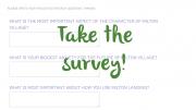 Online survey: Milton Village Zoning & Waterfront Study