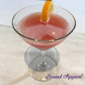 Broad Appeal TV blood orange cosmo