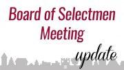 Board of Selectmen meeting
