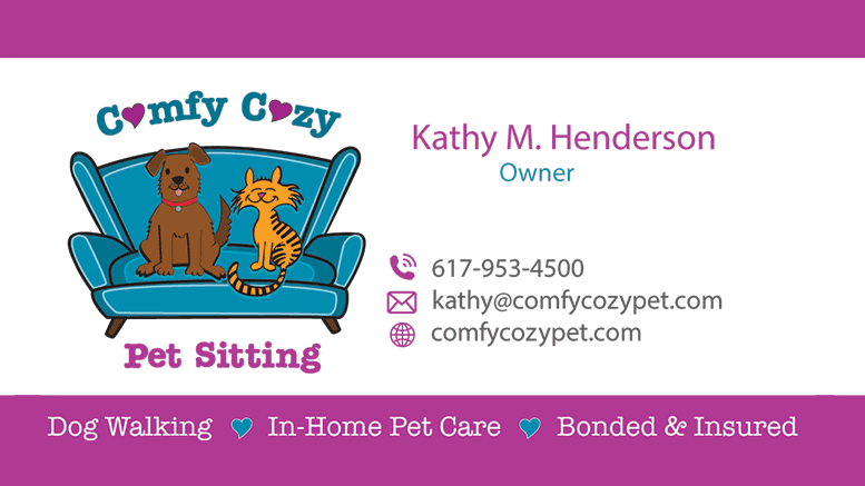 Comfy Cozy Pet Services in Milton