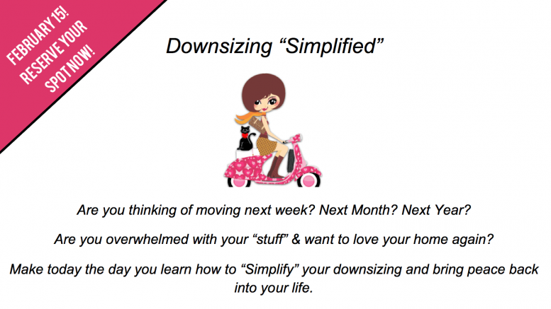 Simply Madcats - Kim Madigan downsizing and clutter clearing
