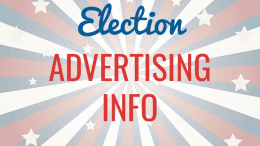 Election advertising info
