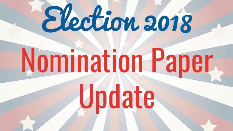 Nomination paper update