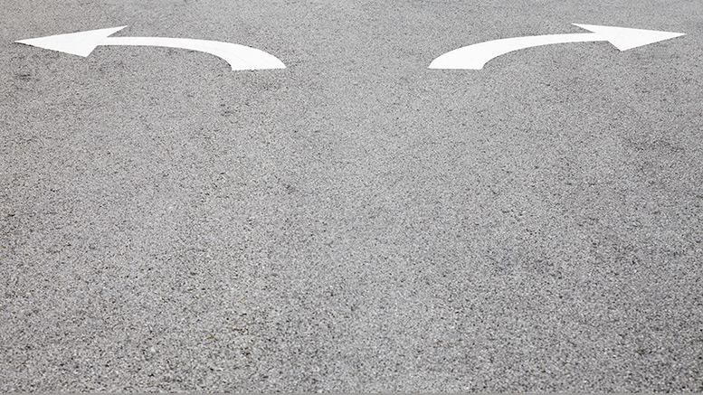 road, street, arrows