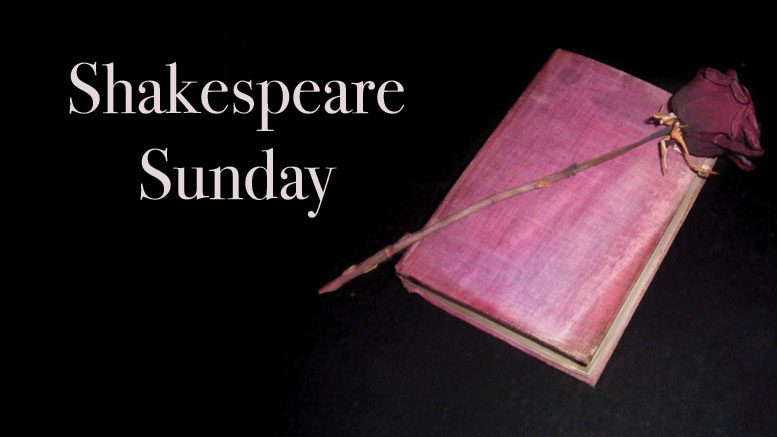 Shakespeare Sunday