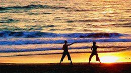 Yang Tai Chi Chuan martial arts class