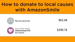 Use Amazon Smile to donate to local Milton Charities without spending a dime!