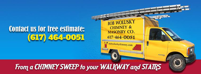 Bob Wolusky Chimney & Masonry repair in Milton MA