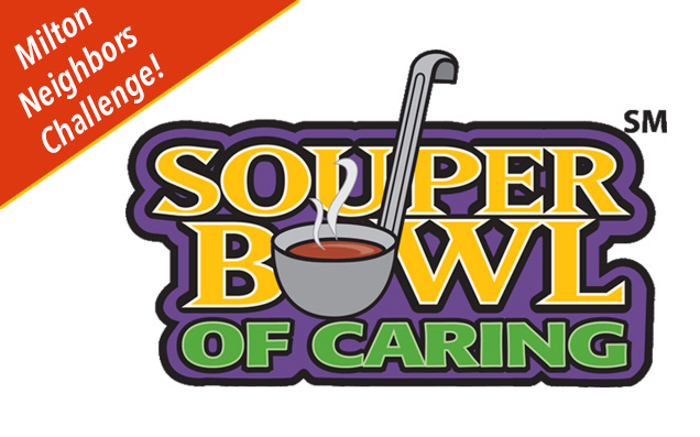 Honor the Patriots while tackling hunger in Milton's Souper Bowl of Caring