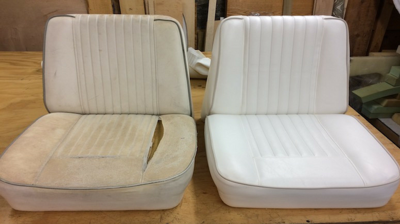 Upholstery by Michael, boat seats