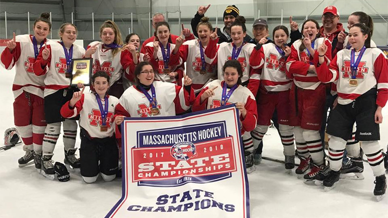 Milton Girls Youth Hockey team wins U-14 state championship