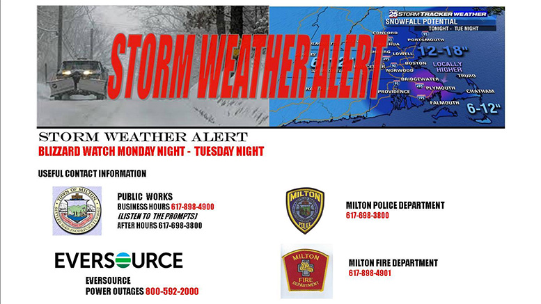 MPD advises March winter storm, phone numbers