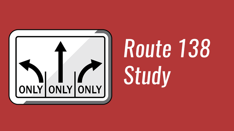 Route 138 study