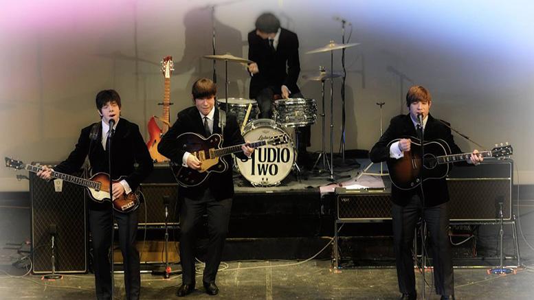 Studio two Beatles band