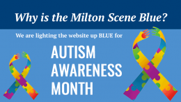 Light it up blue for Autism Awareness Month