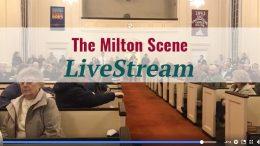 View the April 3 East Milton Meeting LiveStream video: Proposed50 unit rental & retail development in East Milton Square