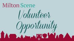 Volunteer opportunity in Milton MA