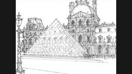 The Louvre Sketch