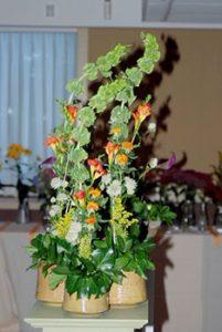 Milton Garden Club flower arrangement