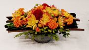 Milton Garden Club flower arrangement
