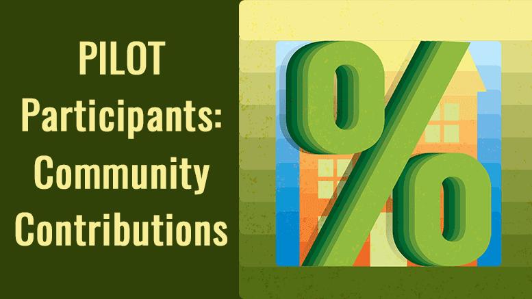 Milton PILOT participants: Community Contributions