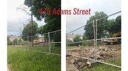 475 Adams Street, Milton, demolished to make room for potential mixed use development