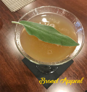 Broad appeal cocktail
