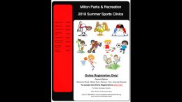 Milton Parks & Recreation offers summer sports clinics for 2018