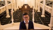 Award-winning musician Xuan He to serve as St. Michael's interim Supply Organist through summer 2018. Photo: Bo Zhu