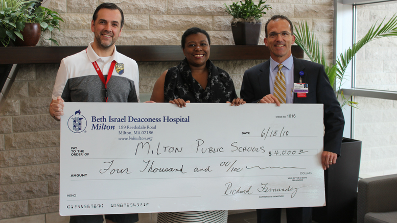 Community health grant from Beth Israel Deaconess Hospital Milton