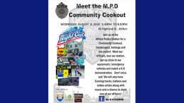 Meet the Milton Police Department community cookout to be held Aug. 8