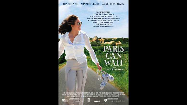 """""""Paris Can Wait"""" is July 24 Tuesday night at the movies pick"""