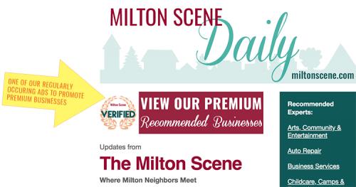 Milton Scene Premium Business listing verified premium experts ad