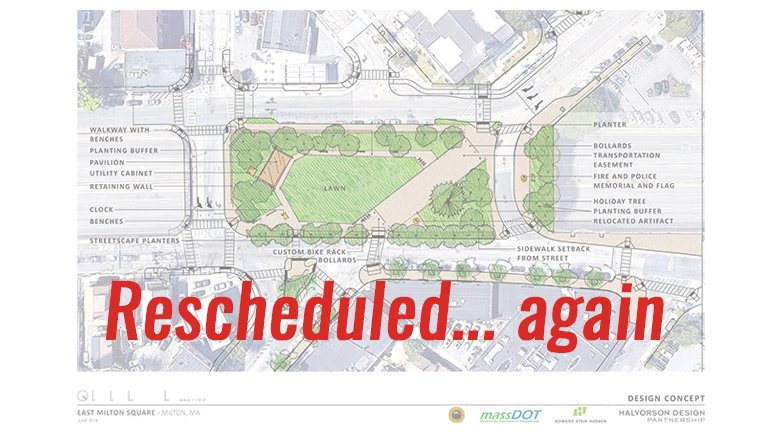 RESCHEDULED AGAIN: East Milton Square deck and design proposal to be presented July 18