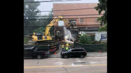 Hendries demolition begins August 13th. Photo courtesy Beth Murphy.