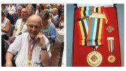 Milton resident Crosbie Lawlor receives Korean Ambassador of Peace Medal