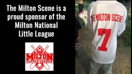 Milton Scene is a proud sponsor of the Milton National Little League