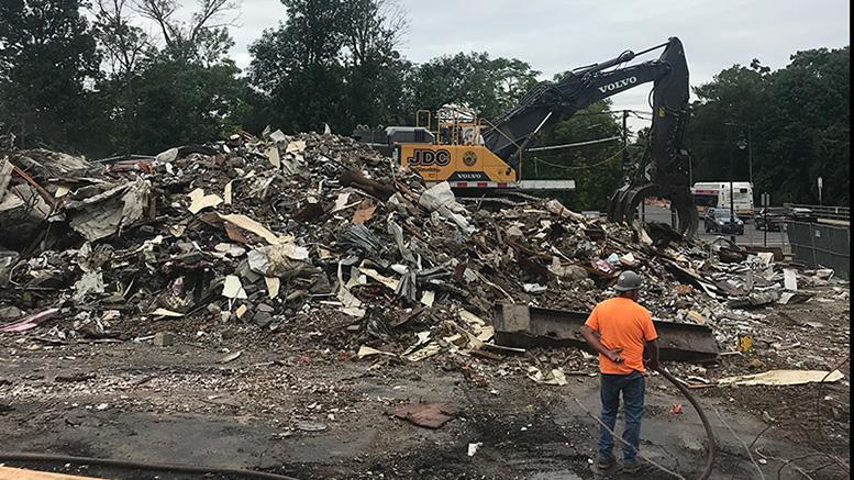 Hendries demolition update, September 2018