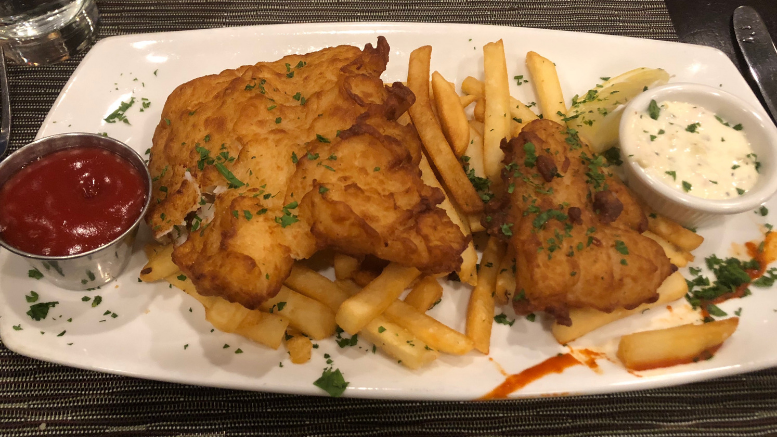 New England Fish & Chips at The Industry