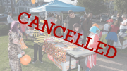 Halloween event cancelled