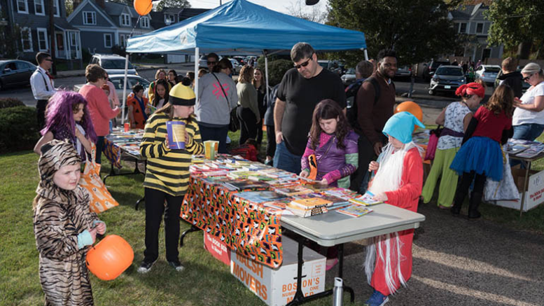 Fourth Annual Trick or Treat for Books event