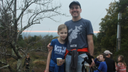 Fall Foliage hike at Blue Hills
